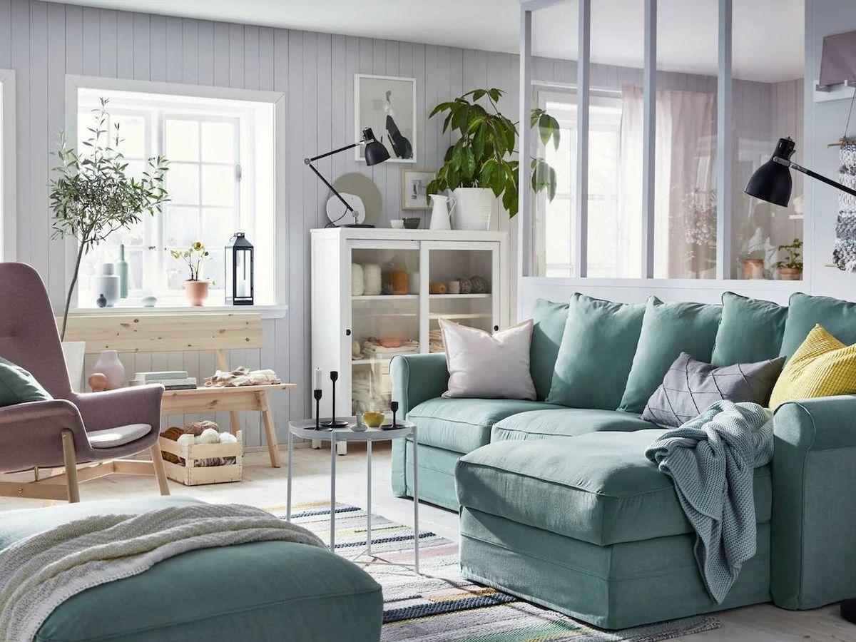 Foto: Ikea te ayuda a separar ambientes en tu hogar. (Cortesía)