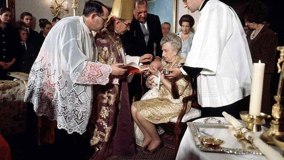 Foto: El bautizo de Felipe VI. (Vanitatis)