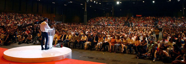 Foto: Pedro Sánchez, en la clausura del 39º Congreso Federal del PSOE, el pasado 18 de junio en Madrid. (Reuters)