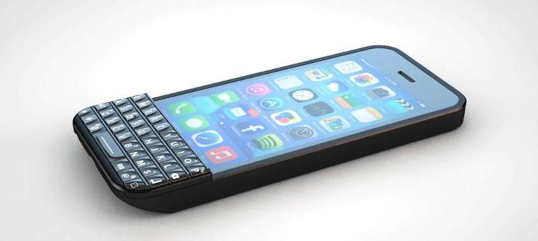 1adeb65f4a6 Apple: Typo, una funda que le añade al iPhone lo mejor de BlackBerry