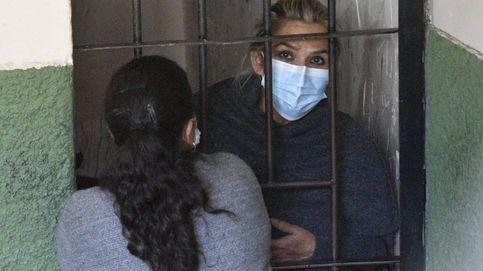 Trasladan a la expresidenta Áñez a otro centro penitenciario