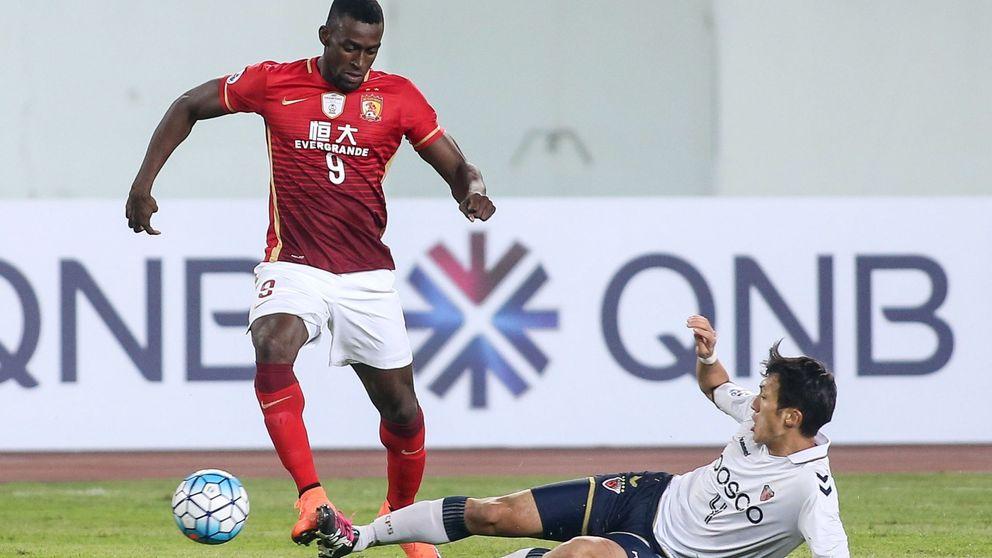 El ocaso de Jackson Martínez: tampoco dejará huella en la Superliga de China