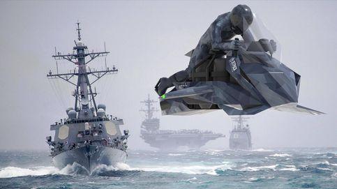 La moto voladora del Ejército de los Estados Unidos