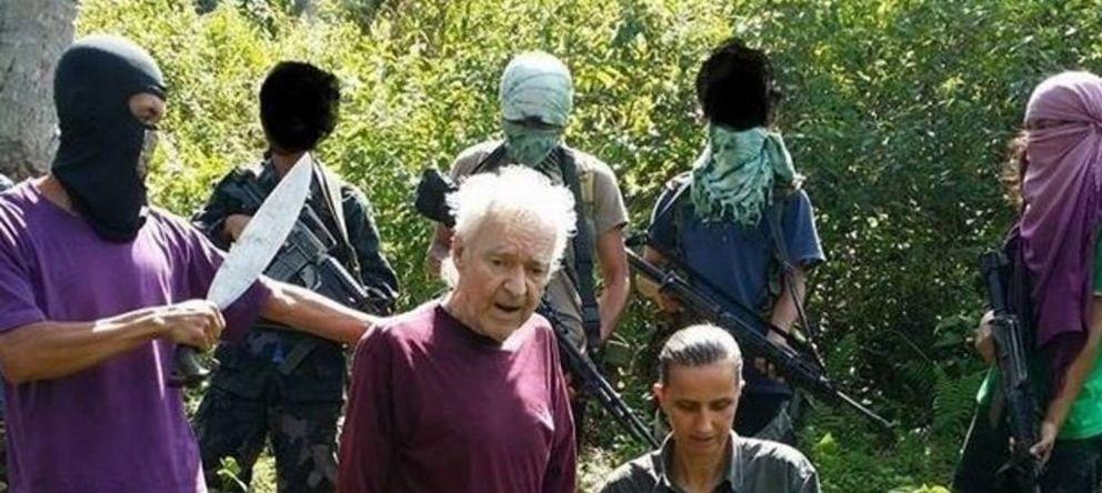 Foto: Los turistas alemanes secuestrados en Filipinas Stefan Okonek y Henrike Dielen (Twitter).