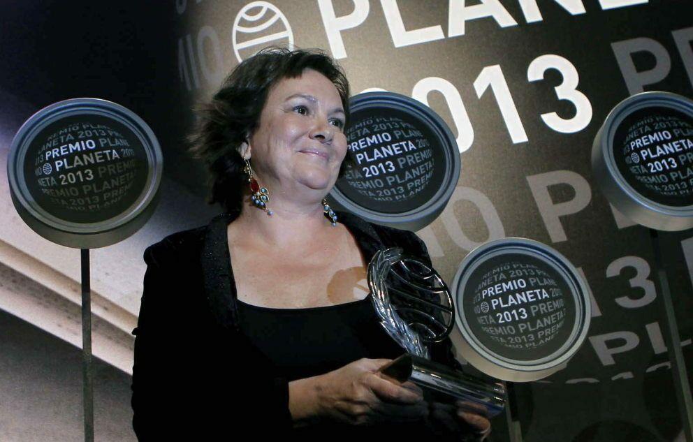 La ganadora del Premio Planeta, Clara Sánchez