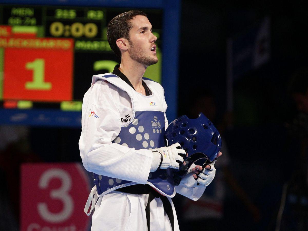 Foto: Raúl Martínez, en el Mundial de Taekwondo en Puebla (México) en 2013 (EFE)