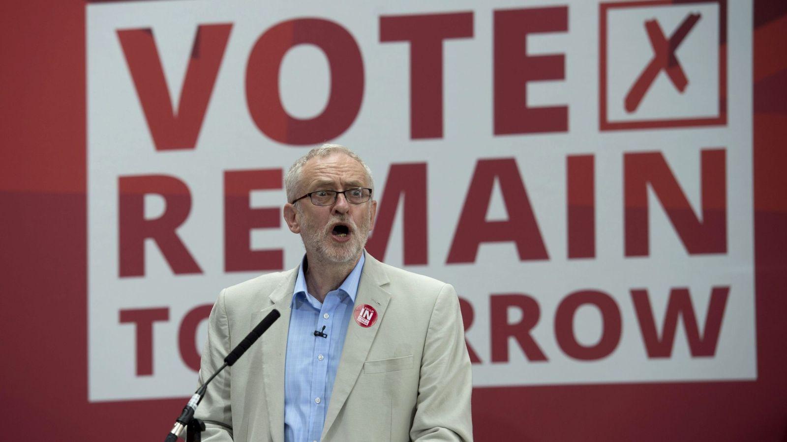 Foto: El líder laborista, Jeremy Corbyn. (EFE)