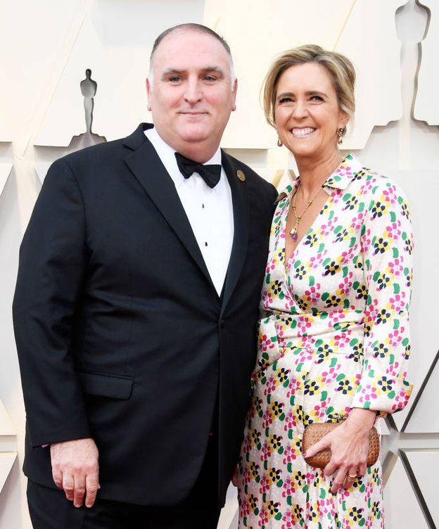 Foto: José Andrés y su mujer, Patricia, en una imagen de archivo. (Getty)