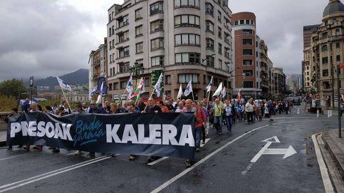 Fiasco en la marcha de la izquierda abertzale en Bilbao por la excarcelación de presos