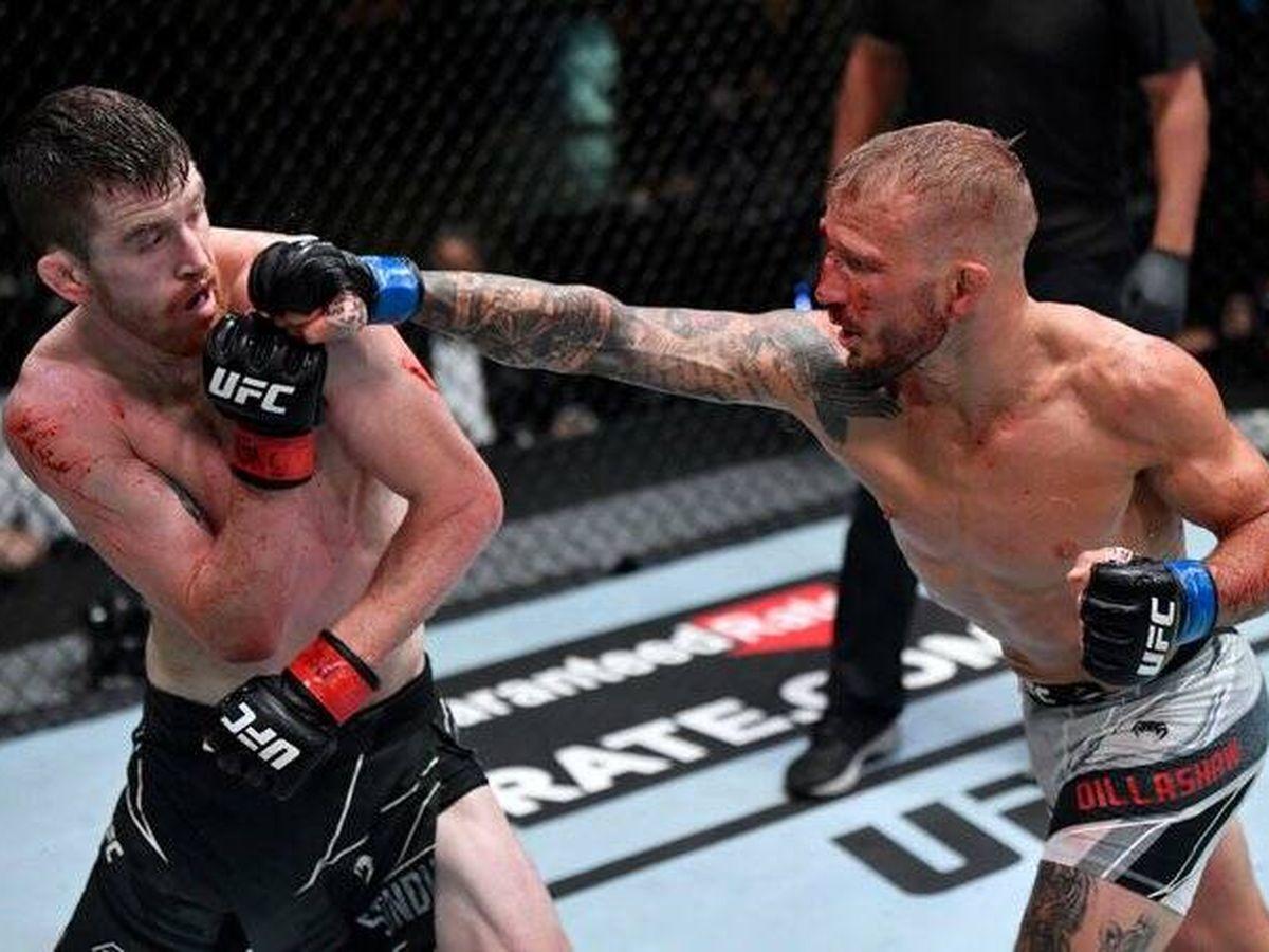 Foto: Sandhagen vs Dillashaw en UFC Vegas 32 (UFC Español)