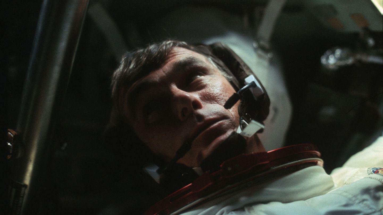 El comandante Gene Cernan durante la misión Apolo 17. (Reuters)