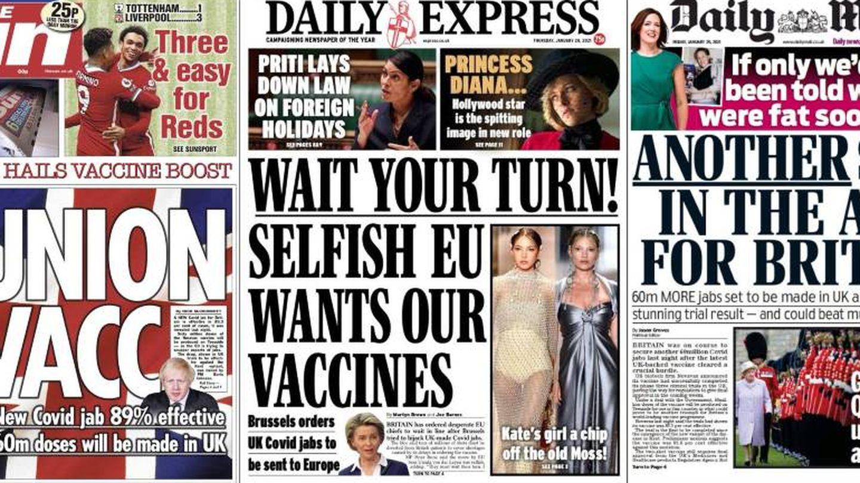 La guerra de los tabloides.