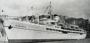 Post de El Agamenón, el crucero del amor de la realeza
