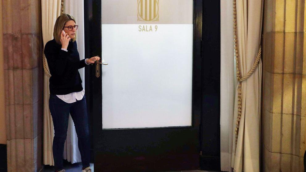 Elsa Artadi suplica a Torrent que se celebre hoy el pleno del Parlament