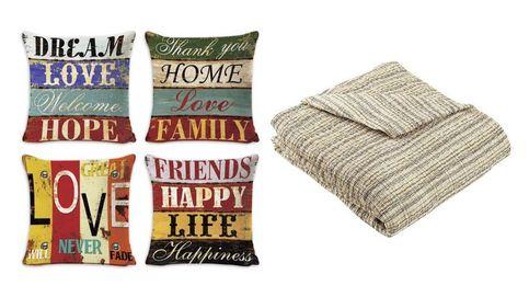 Fundas para proteger sofás, almohadas y cojines en tu hogar