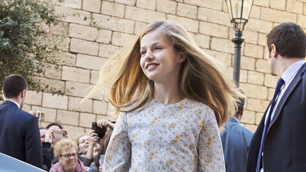 Foto: Leonor en Palma de Mallorca. (Getty)