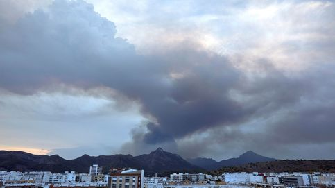 El incendio de Llutxent (Valencia) calcina más de 1.000 ha y su origen fue un rayo