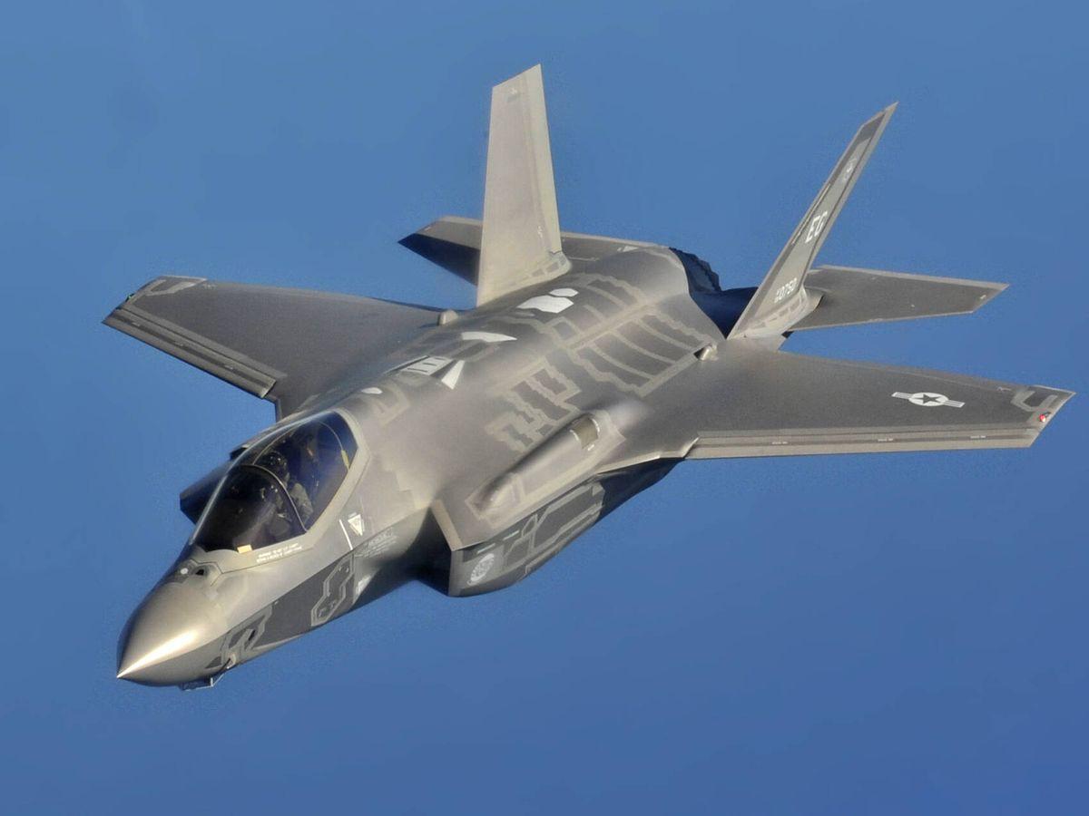 Foto: F-35A en vuelo. (USAF)