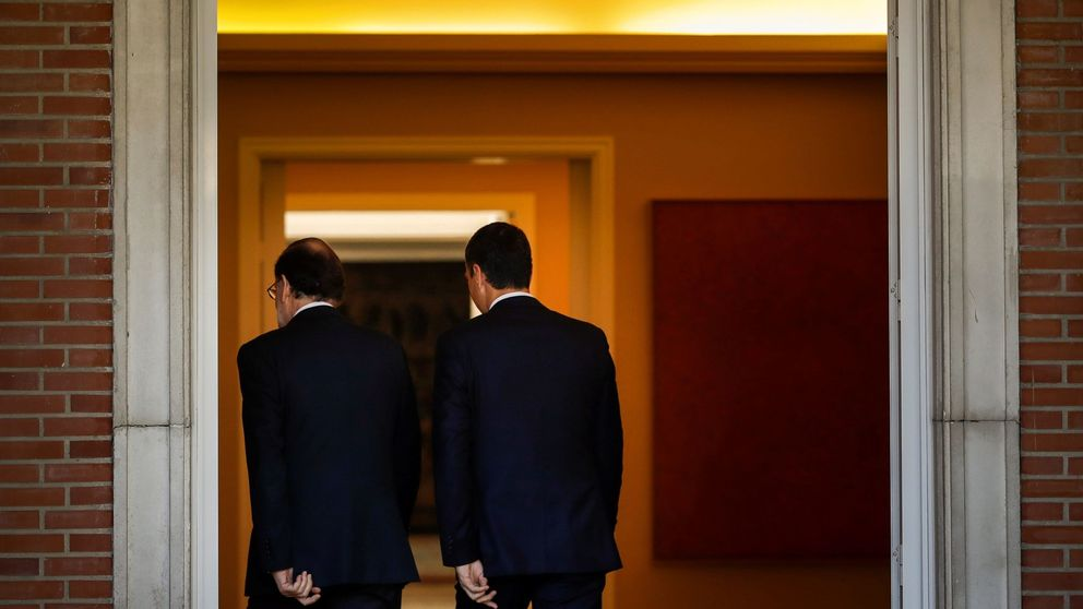 Rajoy y Sánchez coordinan sus propuestas y se conjuran frente a Rivera