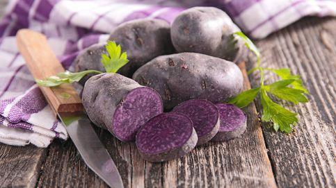Cinco beneficios saludables de las patatas moradas