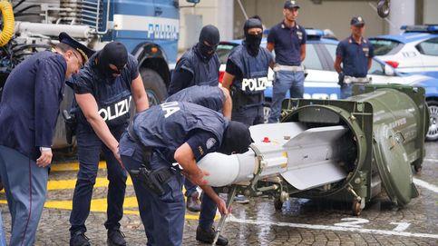 La policía italiana halla un misil aire-aire en redadas a grupos neonazis