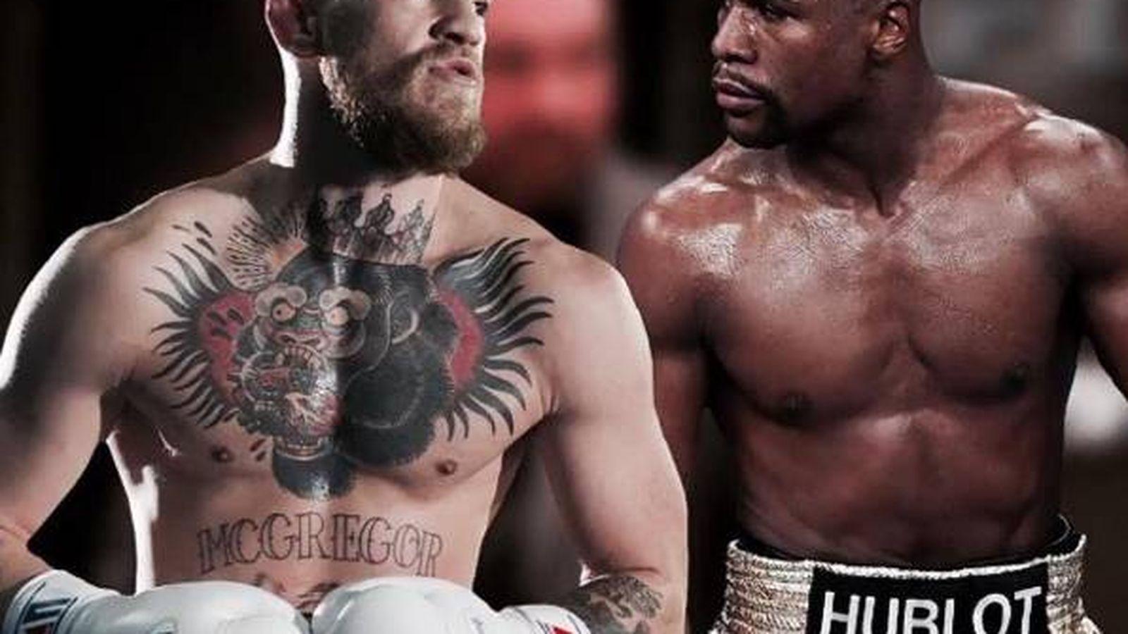Foto: McGregor y Mayweather en un montaje. (Foto: Instagram de TheNotoriusMMA)