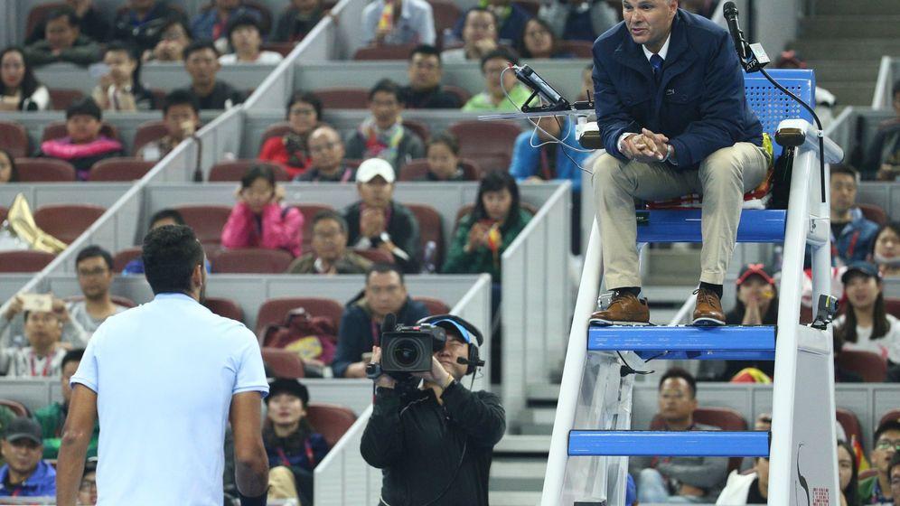 Foto: Kyrgios sed queja durante un partido. (Reuters)