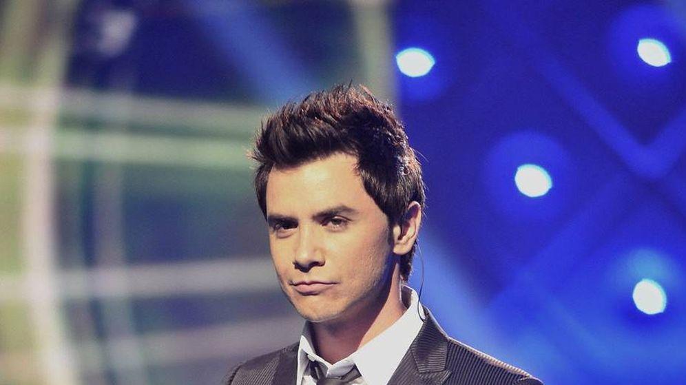 Foto: David Civera durante su participación en 'Mira quién baila' en TVE en 2010.