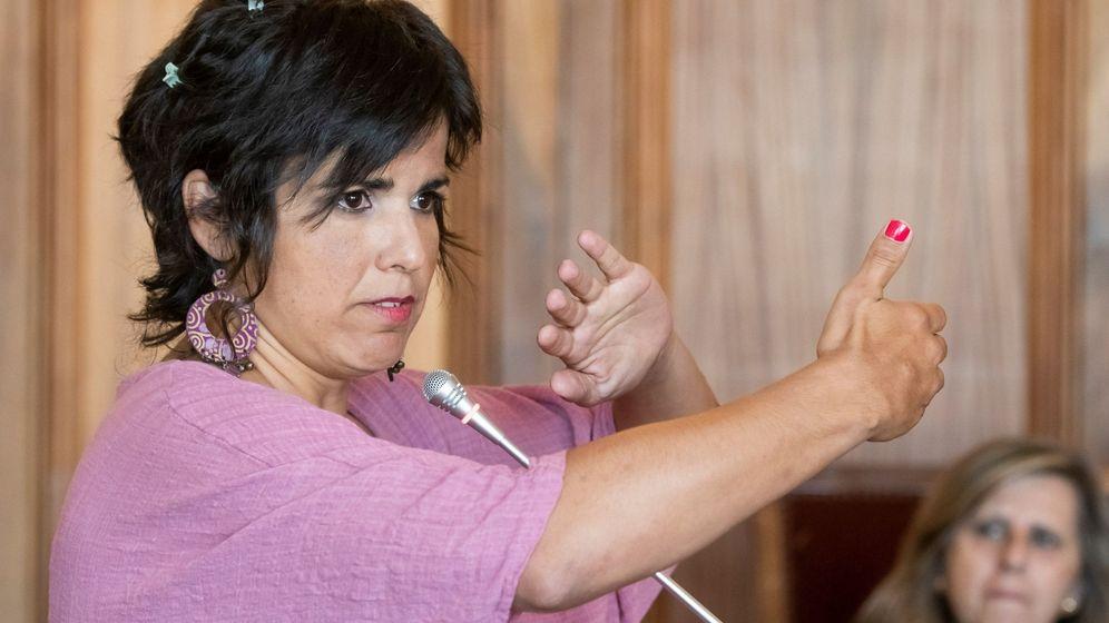 Foto: La coordinadora de Podemos Andalucía, Teresa Rodríguez. (EFE)