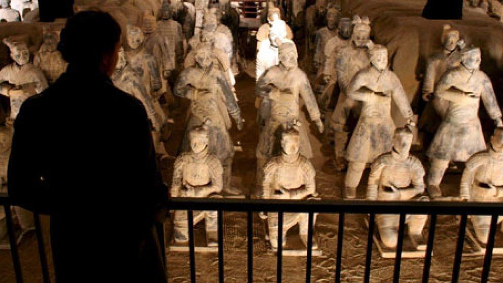 China anuncia medidas legales contra los falsos guerreros de terracota de Alemania
