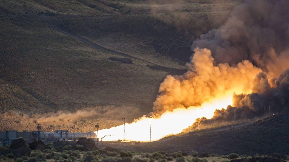 La impresionante prueba de la NASA del cohete más potente del mundo