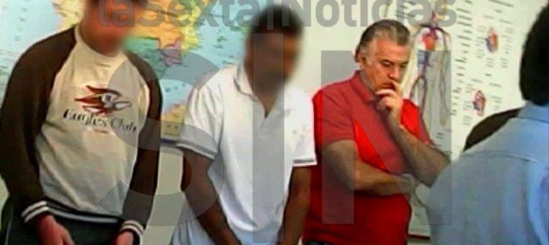 Foto: Imagen facilitada por La Sexta de un vídeo grabado en el interior de la prisión madrileña de Soto del Real. (EFE)