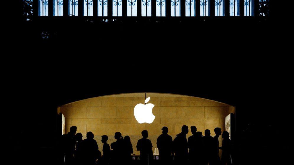 Foto: La tienda de Apple en Nueva York. (EFE)
