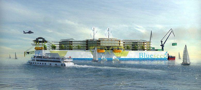 Foto: Está previsto que el proyecto Blueseed se haga realidad en 2014, tras captar el capital necesario