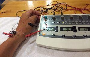Electroacupuntura, magnetoterapia y bici estática en busca del Nacional