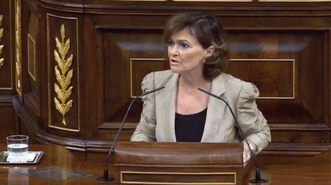 La comparecencia de Calvo, en directo | PP y Cs cargan con fuerza contra el Gobierno
