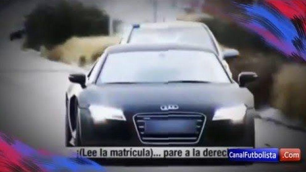Vídeo: así fue la persecución de la Policia a James Rodríguez.