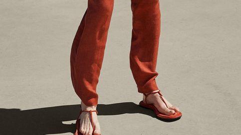 Comodidad garantizada con estas sandalias planas de Massimo Dutti
