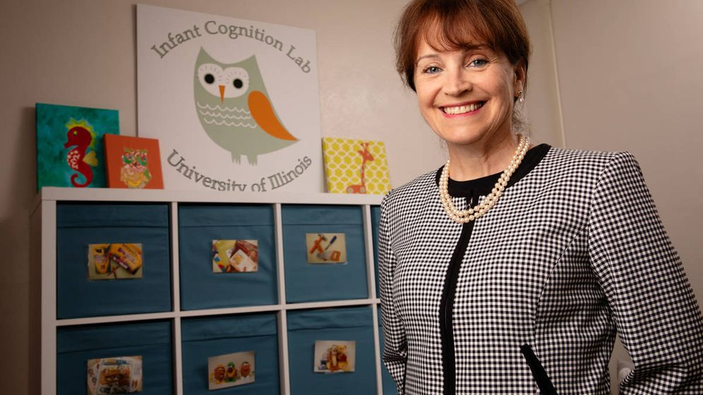 Foto: Renee Baillargeon, profesora de psicología del desarrollo y autora del estudio (Universidad de Illinois)