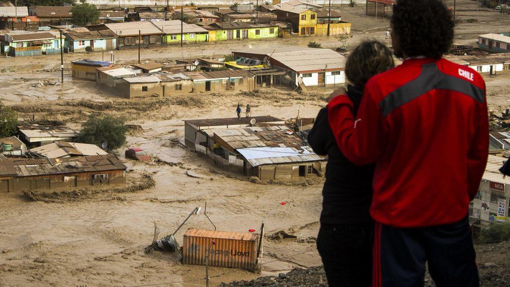 Las fuertes inundaciones de Chile dejan al menos 14 muertos