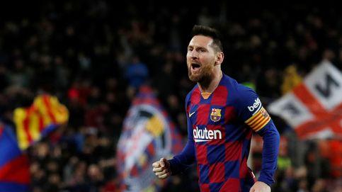 La magia de Leo Messi con las faltas tapa los problemas del Barcelona