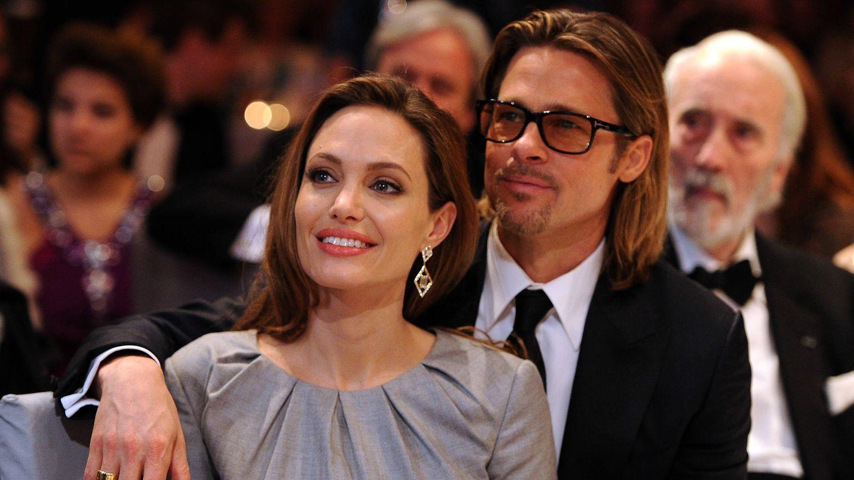 Angelina y Brad, en una imagen de 2012.  (Getty)