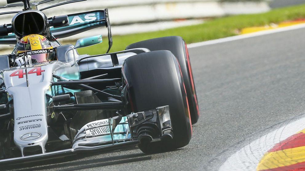 Hamilton mete el zarpazo a Ferrari, Sainz asoma la cabeza y Alonso sueña con el Top-10