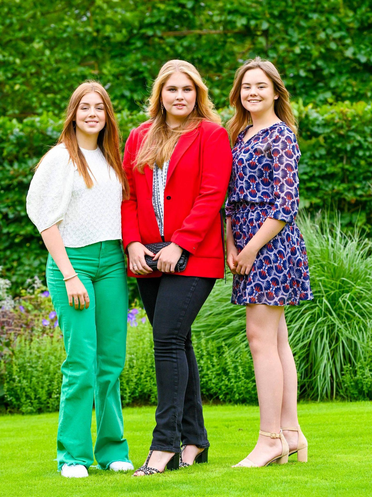 Alexia, Amalia y Ariane. (Cordon Press)