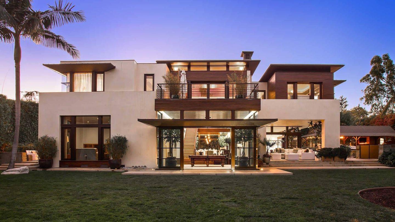El exterior de la espectacular vivienda. (The Agency)