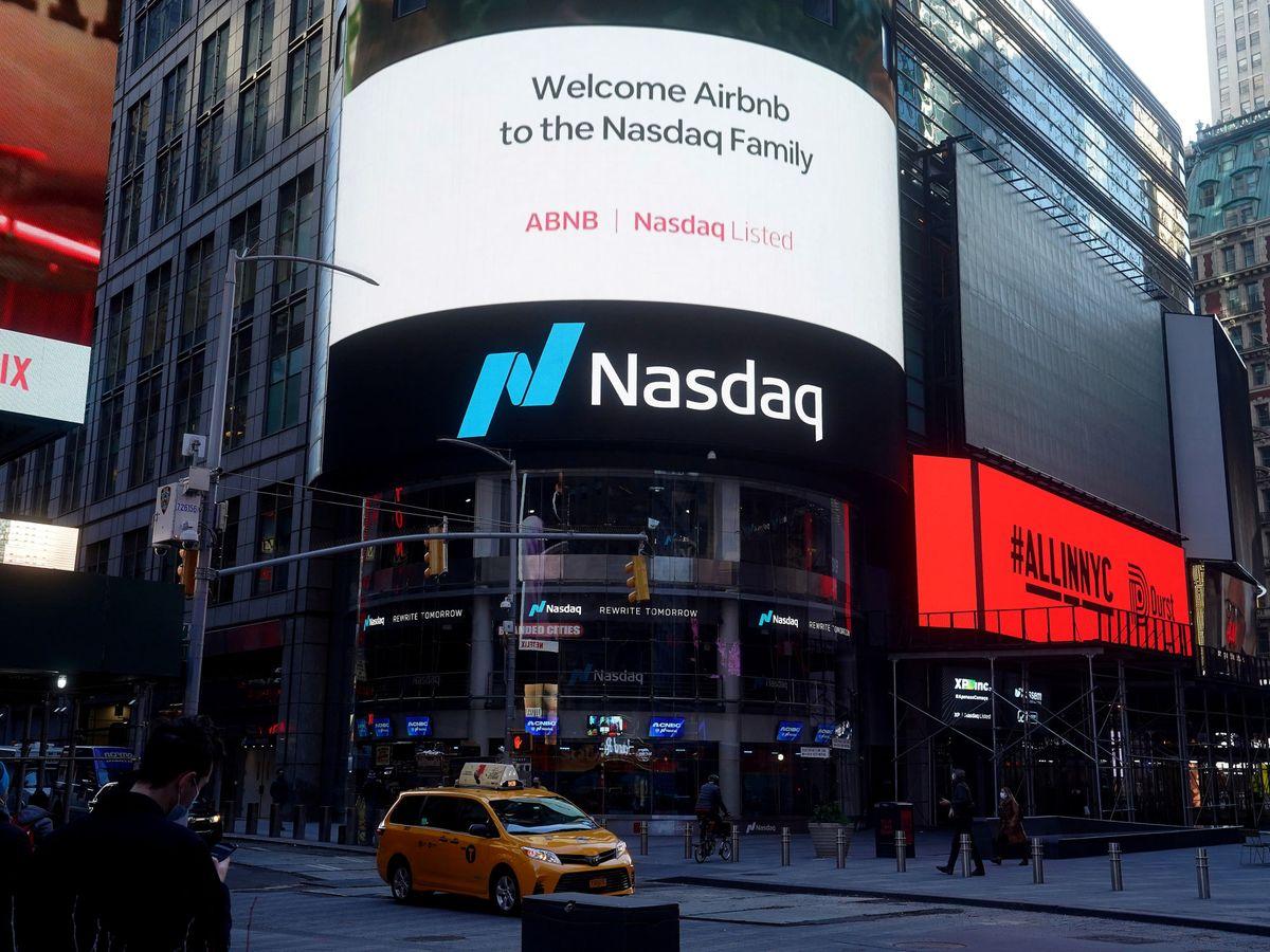 Foto: Panel luminoso en Nueva York