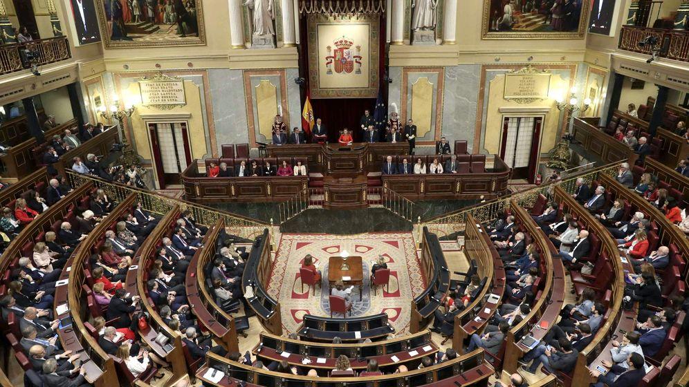 Foto: Sesión en el Congreso de los Diputados. (EFE)