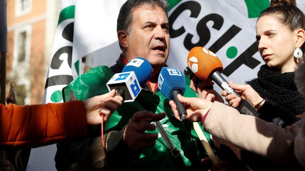 Foto: Manuel Santiago, portavoz de CSIF.