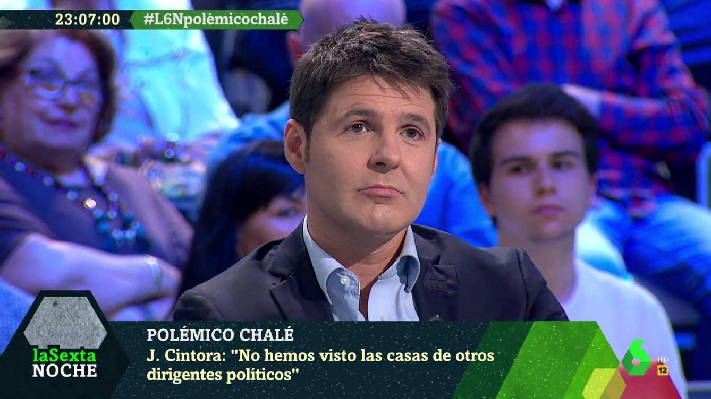 'La Sexta noche': Cintora defiende a Iglesias y Montero tras la crisis del chalé