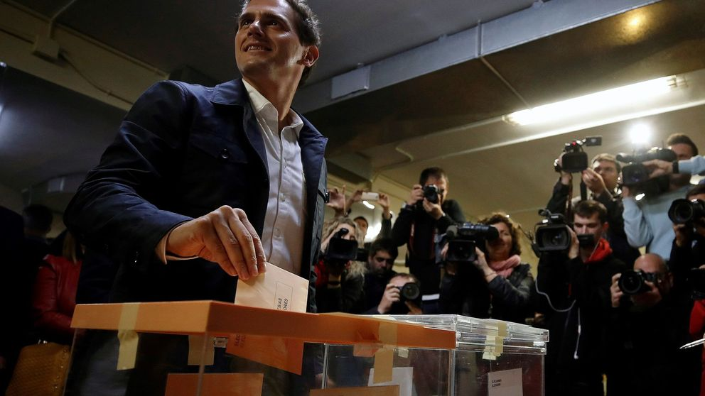 Valoración de Rivera a los resultados de las elecciones